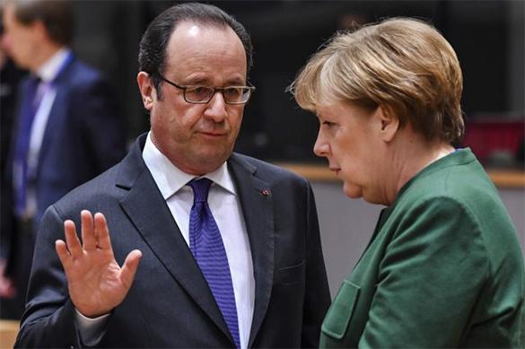 Ответственность запроизошедшее вСирии лежит наАсаде— Меркель иОлланд