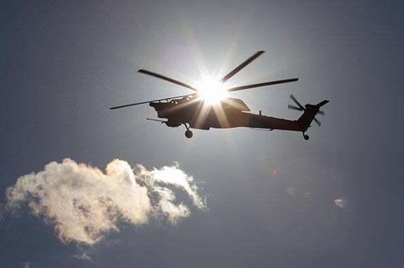 Вертолет ВСУ разбился в Донбассе у Краматорска
