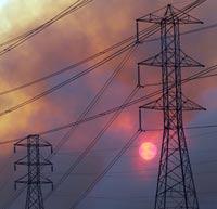 В России упал спрос на электроэнергию