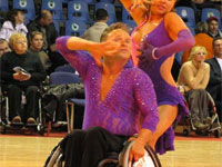 В Питере стартовал турнир по танцам на инвалидных колясках