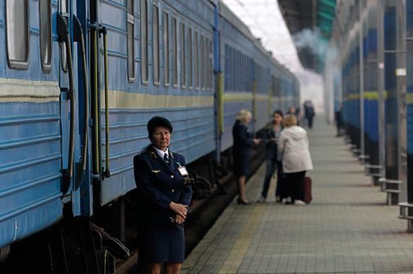 остановка поезда
