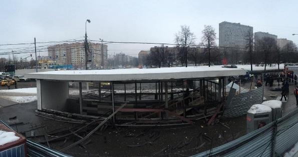 Взрыв газового баллона у Коломенской: Криминальной подоплеки н