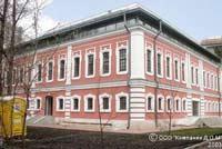 Ректорский дом на Моховой улице.