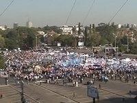 В столице Румынии прошла самая массовая акция протеста