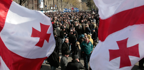 В Грузии туристов обяжут пописывать признание грузинскими Абхази