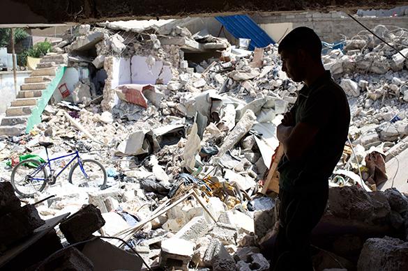 Переход Аль-Валид в Сирии освобожден от террористов