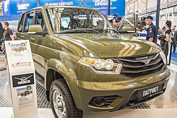 """""""Армия-2015"""": УАЗ представил новую линейку автомобилей для минобороны. внедорожник Патриот УАЗ"""