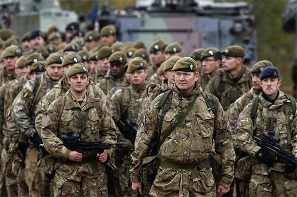 Британия хочет сдержать агрессию России танками и дронами