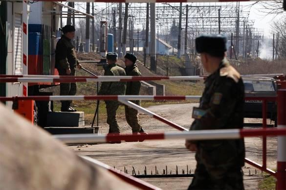 В Херсоне арестовали российских пограничников, сбившихся с маршр