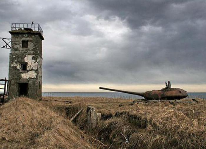 Курильские острова. Великая Отечественная война