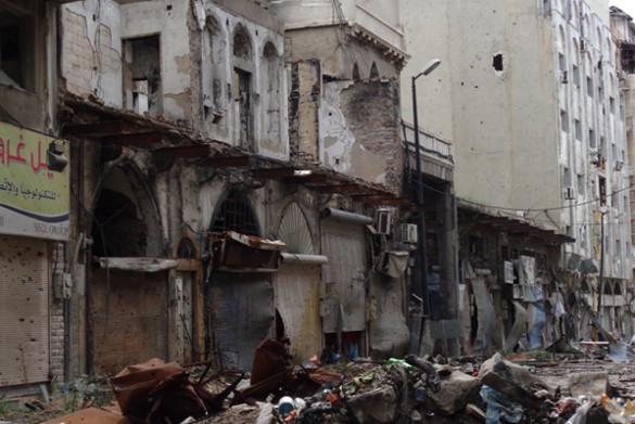 Хомс, Сирия: Израненный город не сломлен. Специально для Правда.ру_ Хомс_разруха