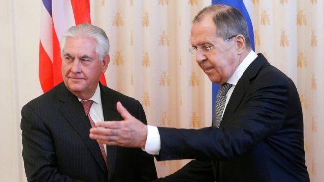 Лавров и Тиллерсон обсудят совместные проекты России и США. Лавров и Тиллерсон обсудят совместные проекты России и США