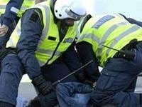 Мадридские полицейские переквалифицировались в забастовщиков