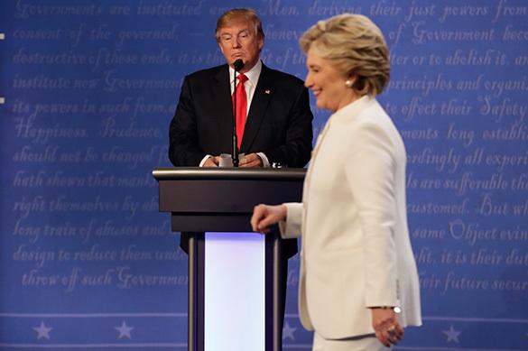 Трамп одержал уверенную победу в финальных дебатах