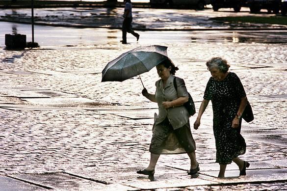 На Москву надвигается дождь дьявола: ливень может затопить гор