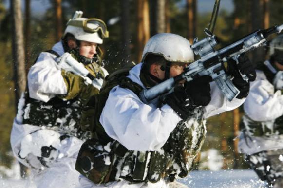 В сугробах по пояс: в Эстонии солдаты НАТО тренировались побеждать Россию. В сугробах по пояс: в Эстонии солдаты НАТО тренировались побежда