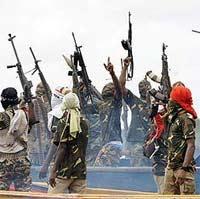Нигерийские боевики освободили российских моряков