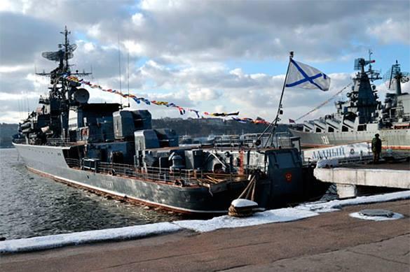 Россия усиливает группировку ВМФ в Средиземном море