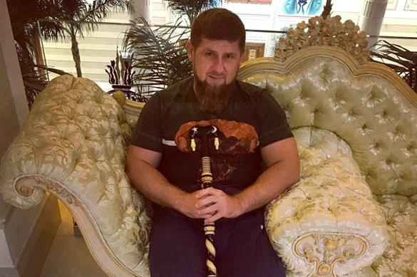 Рамзана Кадырова случайно покалечил СОБР