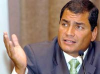 Корреа переизбран президентом Эквадора