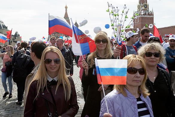 Левада: россияне гордятся Победой, армией и Крымом