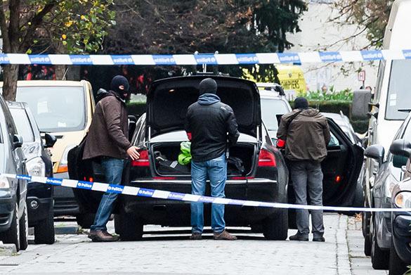 Бельгия, антитеррористическая операция