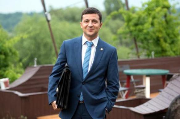 Зеленский занял лидирующую позицию в президенсткой избирательной кампании на Украине. 398158.jpeg