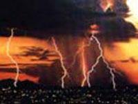 Молния обесточила целый поселок в Иркутской области