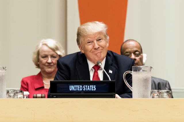 Трамп объявил, что бюрократия стала напути развития потенциала ООН