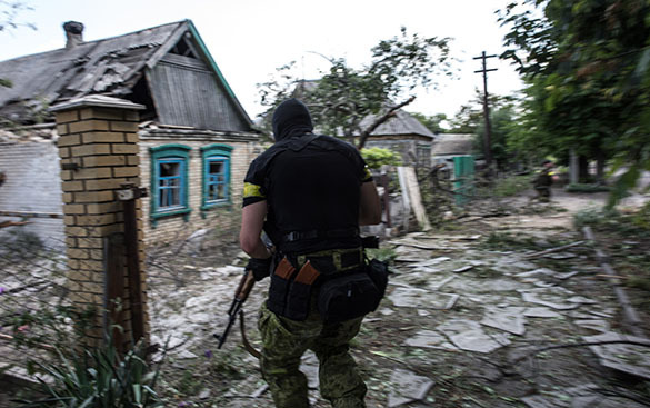 Бои под Марьино: ополчение потеряло 20 человек убитыми. Марьинка, солдат ВСУ
