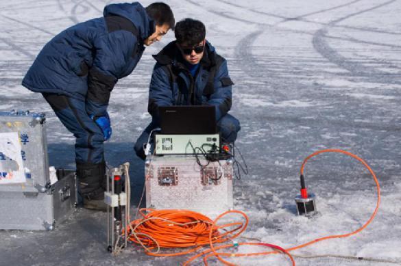 Российские ученые протестировали уникальную подледную связь для Арктики. Российские ученые протестировали уникальную подледную связь для
