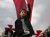 В Тбилиси возобновились акции оппозиции