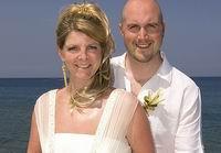 Свадебное платье спасло невесте жизнь