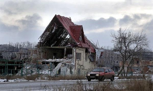В Донецке прогремел мощный взрыв. В Донецке прогремел взрыв
