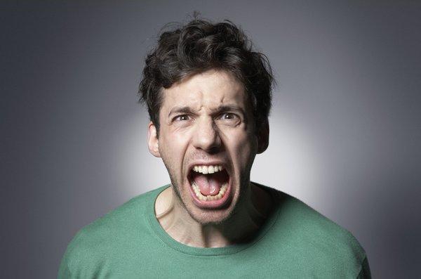 Гнев разрушает организм. гнев