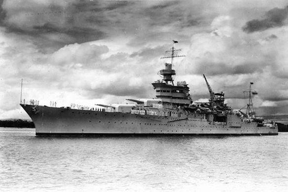 Крейсер «Индианаполис» отыскали через 72 года поисков