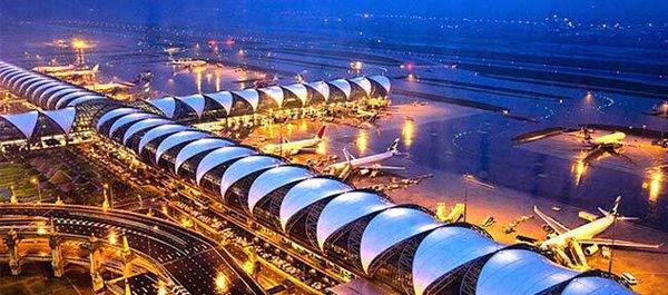 Бангкок: крупнейший в мире аэропорт готов принять россиян. Бангкок: крупнейший в мире аэропорт