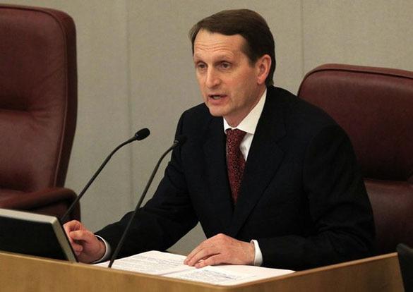 Нарышкин: Принимать  бюджет-2017 должны те, кто будет за него отвечать. Сергей Нарышкин