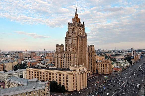 МИД РФ призывает США одуматься и вернуть дипломатические объекты. МИД РФ призывает США одуматься и вернуть дипломатические объекты