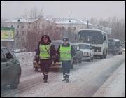 В Екатеринбурге - снежный паралич