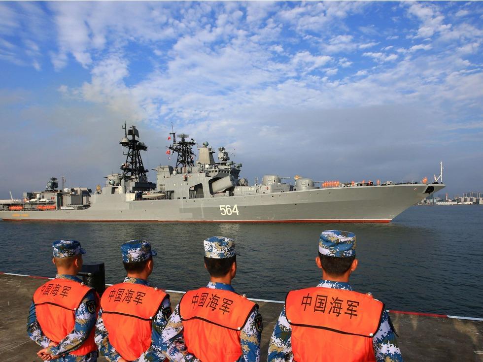 учения ВМФ Китая