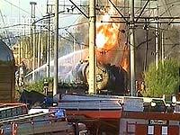 В Карелии произошел пожар на железной дороге