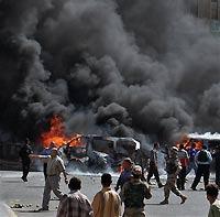 Взрыв в Багдаде, восемь погибших