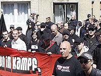 В стычке с неонацистами в Германии пострадали шестеро