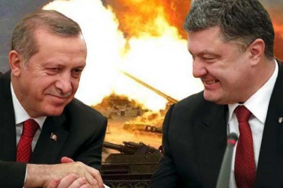 Эрдоган поможет Порошенко ковать военную мощь. 387173.jpeg