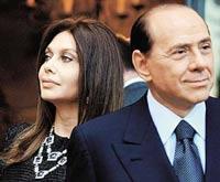 От Берлускони уходит жена