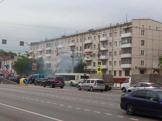 Автобус вспыхнул на Варшавском шоссе. 322174.jpeg