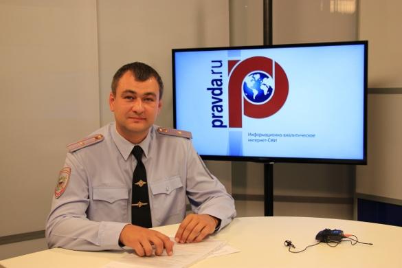 Майор полиции Евгений Левшин