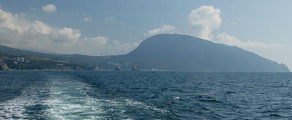 Крым с моря