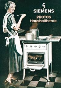 Реклама плит Siemens (1935 год)